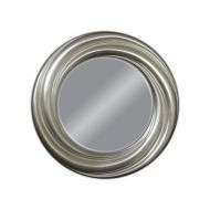 Lustro wiszące 68cm D2 Twist srebrne