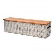 Skrzynia-stolik 161x42x47 cm Miloo Home Adventure brązowy