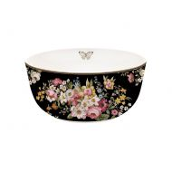 Misa porcelanowa 14cm Nuova R2S Blooming Opulence czarny