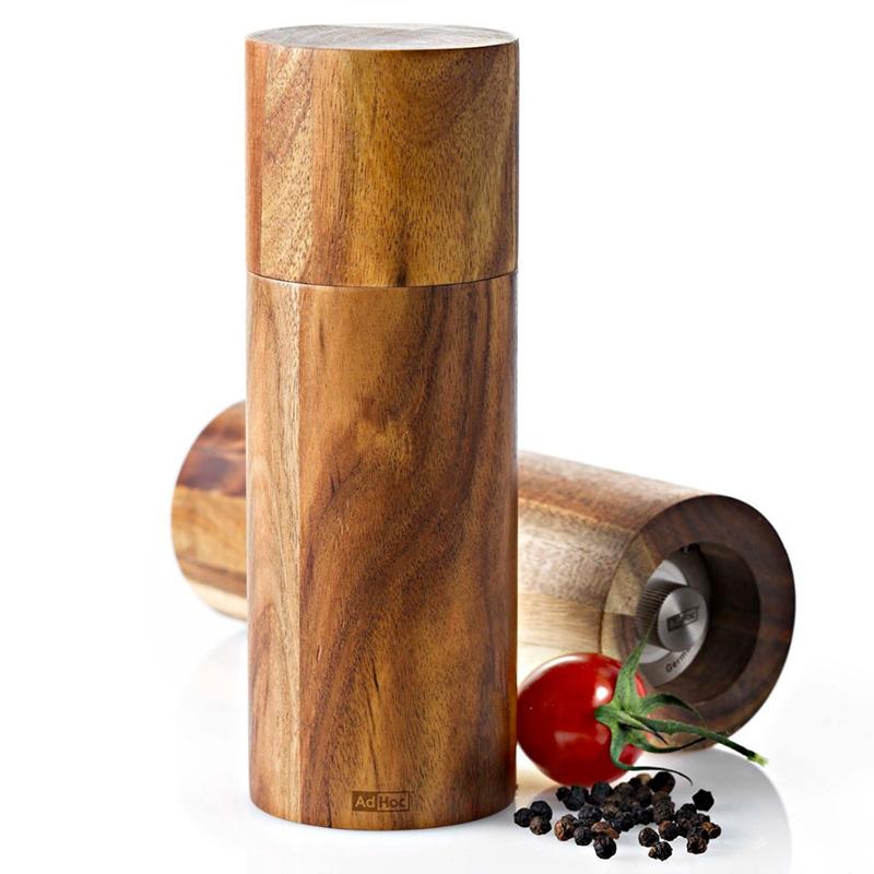 drewniany młynek z drewna akacjowego adhoc