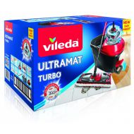 Mop Vileda Ultramat Turbo czarno-czerwony