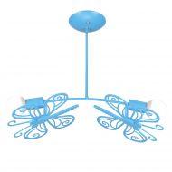 Motylek 2 wiszący niebieski