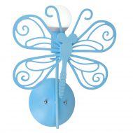 Motylek kinkiet niebieski