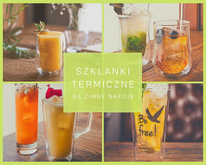szklanki termiczne na zimne napoje