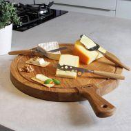 Nóż do sera Brie 25x1 cm Boska Life Collection naturalny