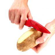 Nożo-obierak do ziemniaków MSC czerwony