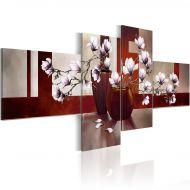 Obraz - Białe ukojenie (100x45 cm)