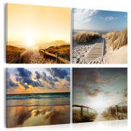 Obraz - Na plaży ze snów (40x40 cm)