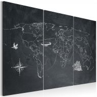 Obraz - Podróż dookoła świata - tryptyk (60x40 cm)