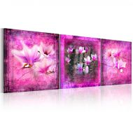 Obraz - Różowe orchidee (120x40 cm)