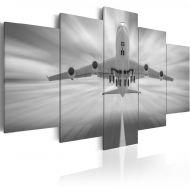 Obraz - Samolot (100x50 cm)