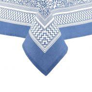 Obrus 1,5x2,65m Ladelle Wallpaper niebieski
