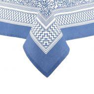 Obrus 1,8x1,8m Ladelle Wallpaper niebieski