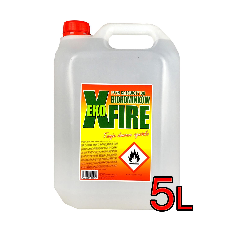 Alkohol etylowy skażony Bioetanol 5l EkoXfire 5900190006736