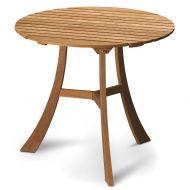 Owalny stolik drewniany Skagerak Vendia