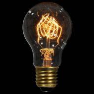 Ozdobna żarówka E27 40W Carbon de Luxe Danlamp z dekoracyjnym żarnikiem