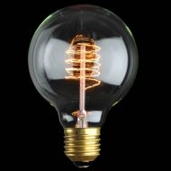 Ozdobna żarówka E27 40W Globe de Luxe Danlamp z dekoracyjnym żarnikiem