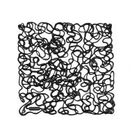Panele dekoracyjne 4 szt. Koziol Fusion czarne