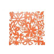 Panele dekoracyjne 4 szt. Koziol Alice pomarańczowe