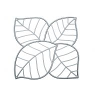 Panele dekoracyjne 4 szt. Koziol Leaf antracytowe