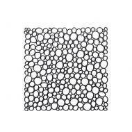 Panele dekoracyjne 4 szt. Koziol Oxygen czarne