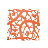 Panele dekoracyjne 4 szt. Koziol Pi:p pomarańczowe