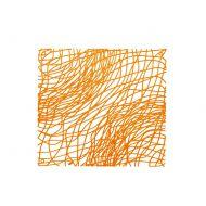 Panele dekoracyjne 4 szt. Koziol Silk pomarańczowe