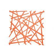 Panele dekoracyjne 4 szt. Koziol Stixx pomarańczowe