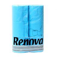 Papier toaletowy 6 szt. Renova niebieski
