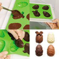 Forma wielkanocna jajeczka Pavoni Happy Easter zielona
