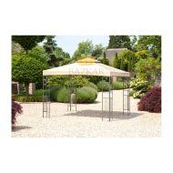 Pawilon ogrodowy 300x300x280cm Bazkar LIVORNO beżowy