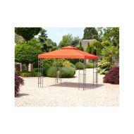 Pawilon ogrodowy 300x300x280cm Bazkar LIVORNO Terra/pomarańczowy