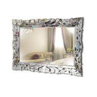 Persefona 140x80cm - prostokątne lustro dekoracyjne w ramie lustrzanej