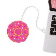 Podgrzewacz kubka na USB Donut Mustard pączek