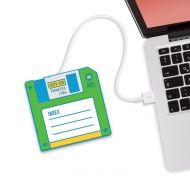 Podgrzewacz kubka na USB Dyskietka Hot Disk Mustard zielony