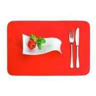 Podkładka na stół 43,5 x 28,5 cm Kela Uni czerwona