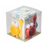 Zestaw podstawek z łyżeczkami 4szt Egg Watcher MSC International