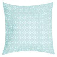 Poduszka Daisy Flower 47x47 niebieska