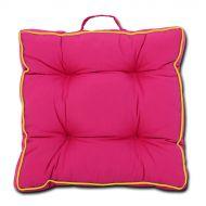 Poduszka z rączką SUN na siedzisko 40x40 : Kolor - 637-14 yellow