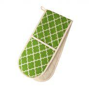 Podwójna rękawica kuchenna 90x20 cm Dexam zielona
