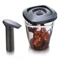 Pojemnik do marynowania średni 1,3 L Tomorrows Kitchen czarny