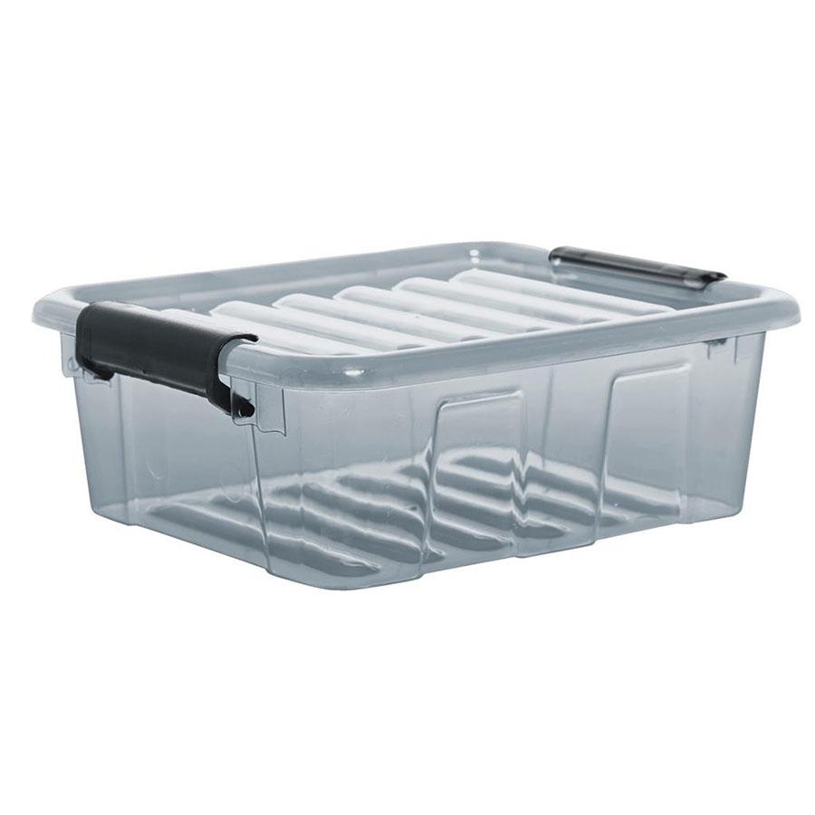 POJEMNIK HOME BOX 1,5L SZARY -PT 2236