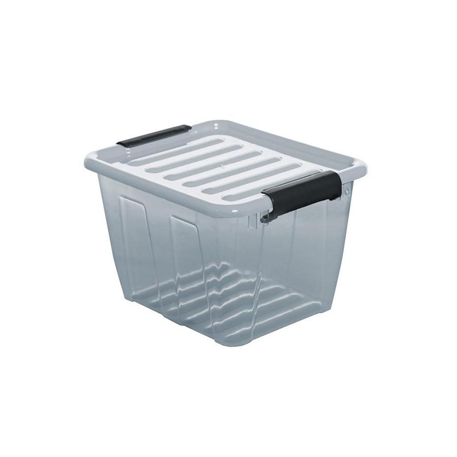 POJEMNIK HOME BOX 3L SZARY -PT 2234