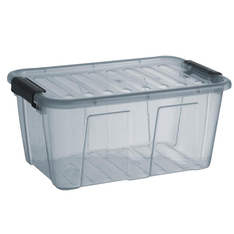 POJEMNIK HOME BOX 8L SZARY -PT 2238