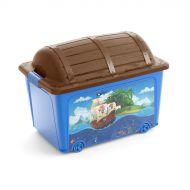 Pojemnik na zabawki Pirate W Box 57x39x43 cm KIS wielobarwny