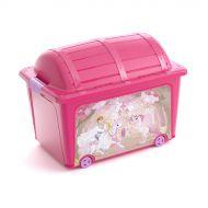 Pojemnik na zabawki Princess W Box 57x39x43 cm KIS wielobarwny