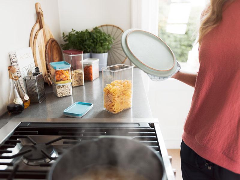 pojemniki do kuchni na artykuły spożywcze Mepal