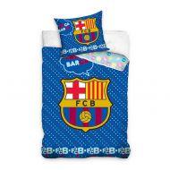 Pościel 100x135cm + 40x60cm CARBOTEX FC Barcelona baby