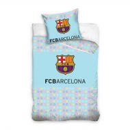 Pościel 100x135cm CARBOTEX FC Barcelona guziki