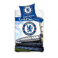 Pościel 160 x 200 cm Carbotex Chelsea Fotball Blux stadion